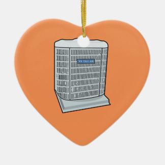 Air Conditioner Unit Ice Cold AC Heat Pump Ceramic Ornament