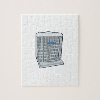 Air Conditioner Unit Ice Cold AC Heat Pump Jigsaw Puzzle