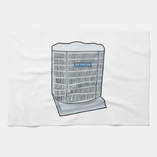 Air Conditioner Unit Ice Cold AC Heat Pump Kitchen Towel
