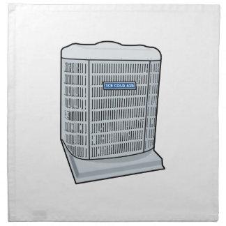 Air Conditioner Unit Ice Cold AC Heat Pump Napkin