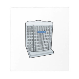 Air Conditioner Unit Ice Cold AC Heat Pump Notepad