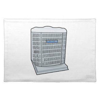 Air Conditioner Unit Ice Cold AC Heat Pump Placemat