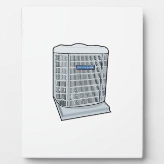 Air Conditioner Unit Ice Cold AC Heat Pump Plaque