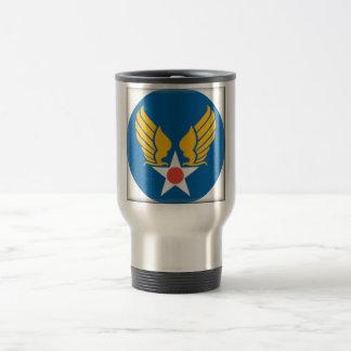 Air Corps Military Emblem Travel Mug