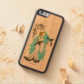 Air Elemental Carved Wood Phone Case