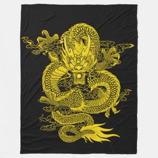 Air Emperor Dragon Fleece Blanket