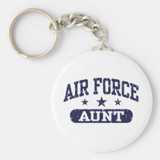 Air Force Aunt Key Chains