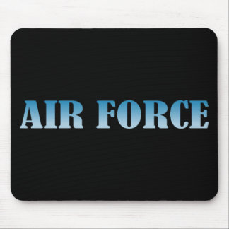 Air Force - Blue Text Mouse Pad