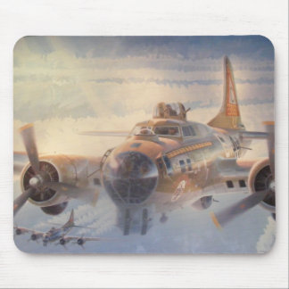 Air Force Bomber Mouse Pad