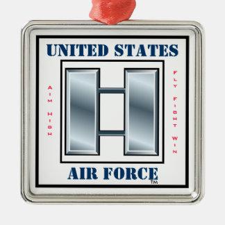 Air Force Captain O-3 Metal Ornament