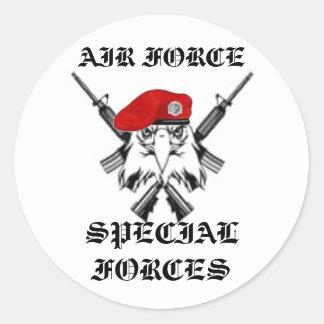 Air Force Combat Control Round Sticker