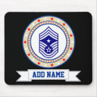 Air Force Command Chief Master Sergeant E-9 Mouse Pad