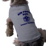Air Force Dog Doggie Tee Shirt