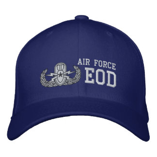 Air Force EOD Embroidered Hat