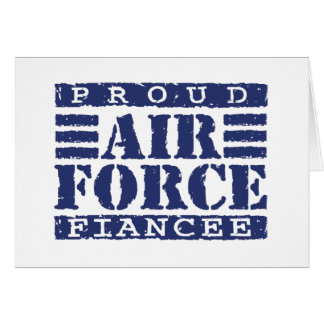 Air Force Fiancee Greeting Cards