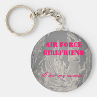 Air Force Girlfriend, I love my... Keychain