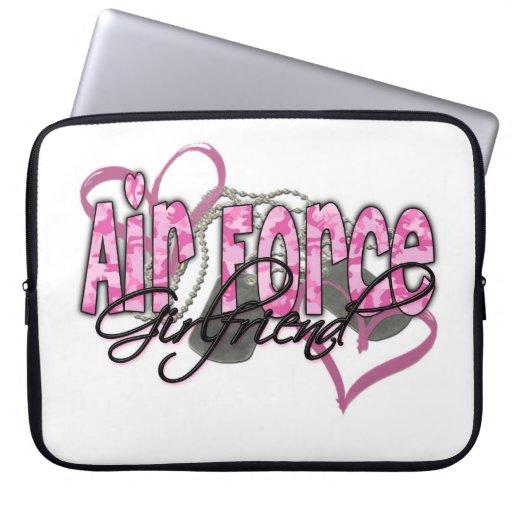 Air Force Girlfriend Laptop Computer Sleeves