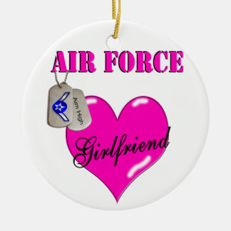 Air Force Girlfriend Ornament