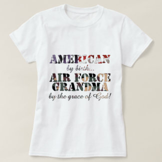 Air Force Grandma Grace of God T-Shirt