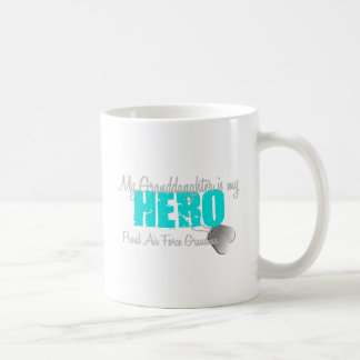 Air Force Grandma Hero Granddaughter Coffee Mug