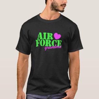 Air Force Grandma Lime Green T-Shirt