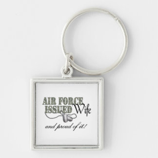 Air Force Issued Wife Keychain