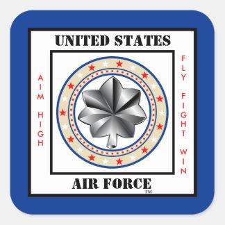 Air Force Lieutenant Colonel LTC O-5 Square Sticker