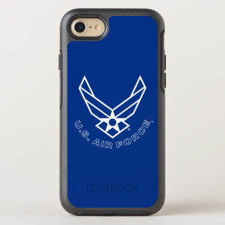 Air Force Logo - Blue OtterBox Symmetry iPhone 8/7 Case