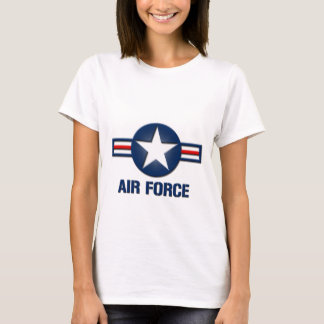 Air Force Logo Ladies T-Shirt