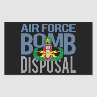 Air Force Master EOD Sticker