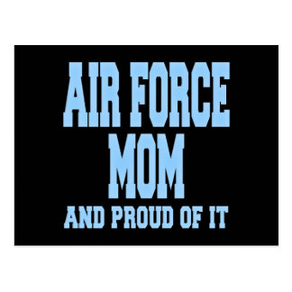 Air Force Mom and Proud of It Postcard