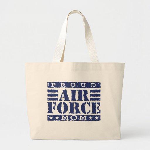 Air Force Mom Canvas Bag