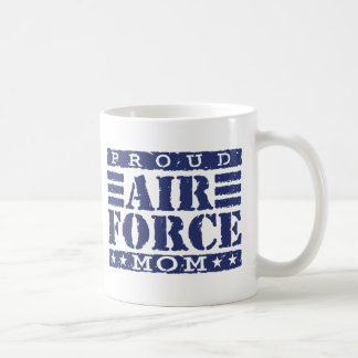 Air Force Mom Classic White Coffee Mug