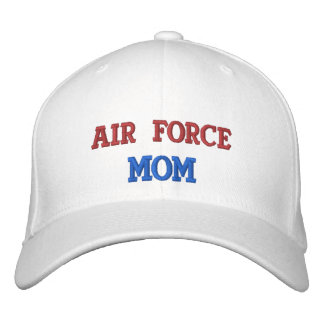 Air Force Mom Embroidered Baseball Cap