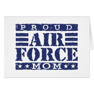 Air Force Mom Greeting Card