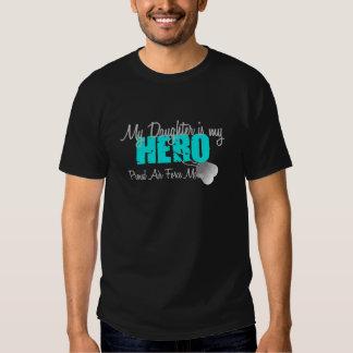 Air Force Mom Hero Daughter Tee Shirt