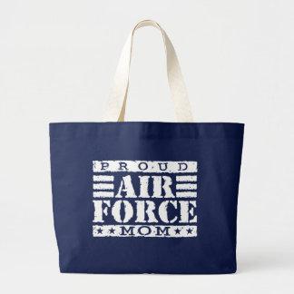 Air Force Mom Large Tote Bag
