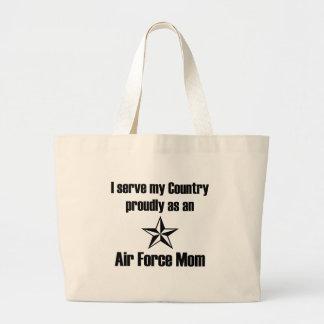 Air Force Mom Serve Bags