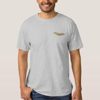 Air Force Navigator Observer Badge Embroidered T-Shirt