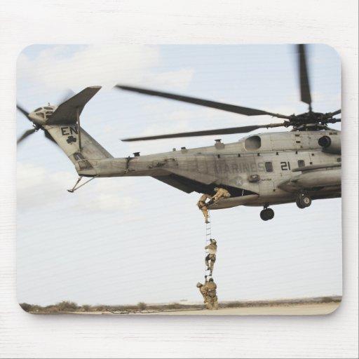 Air Force pararescuemen conduct a combat insert 4 Mousepads