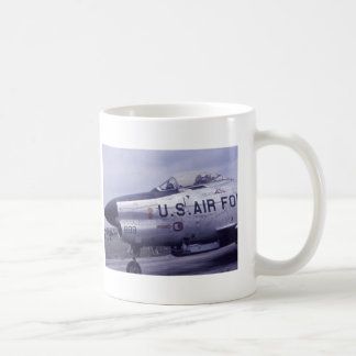 AIR FORCE SABRE JET F-86D COFFEE MUG
