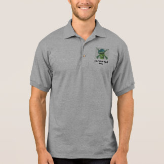 Air Force Security Police Skull Polo Shirt