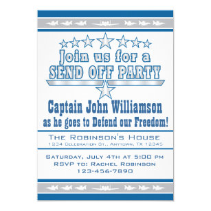 send off party invitations announcements zazzle ca