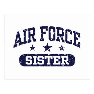 Air Force Sister Postcard