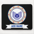 Air Force Technical Sergeant E-6 TSgt Mouse Pad