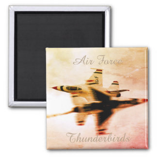 Air Force Thunderbirds Close Pass Maneuver Magnet