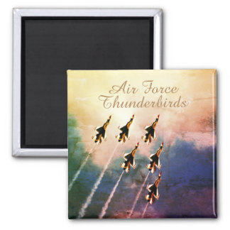 Air Force Thunderbirds Maneuver Square Magnet