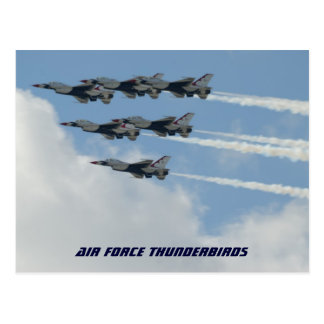 Air Force Thunderbirds Postcard