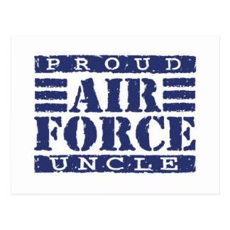 Air Force Uncle Postcard