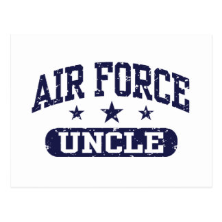 Air Force Uncle Postcard